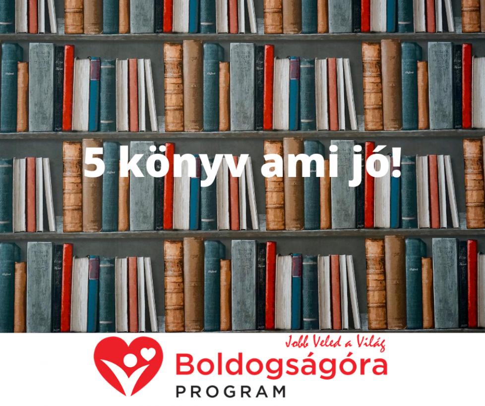 5 könyv ami jó!
